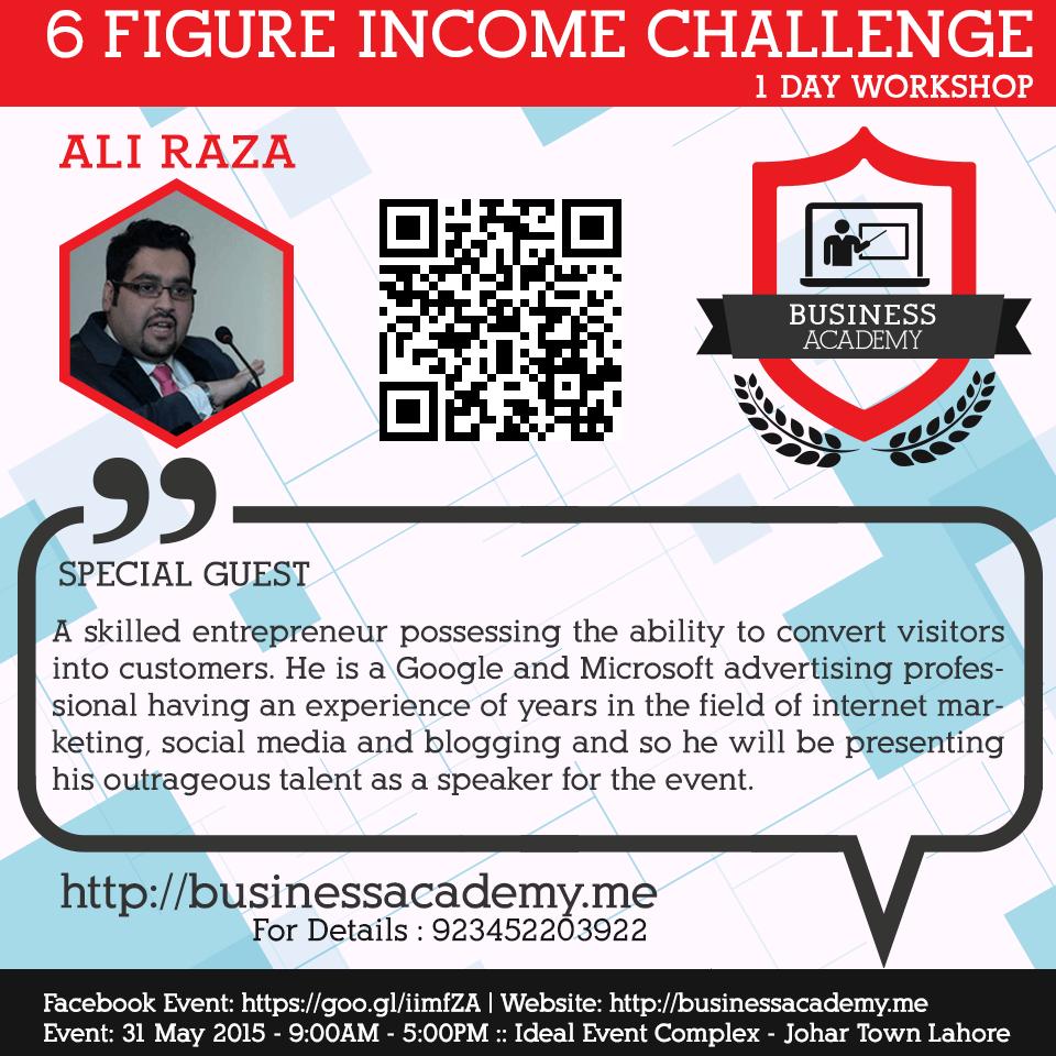 6 Figure Income Challenge seminar 10