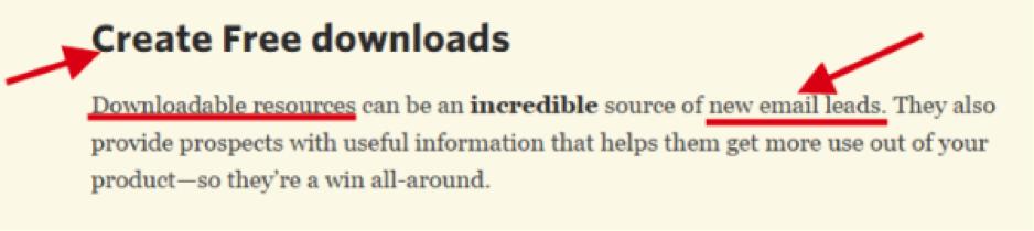 create free downloads