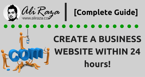 how-to-create-a-business-website-in-1-day