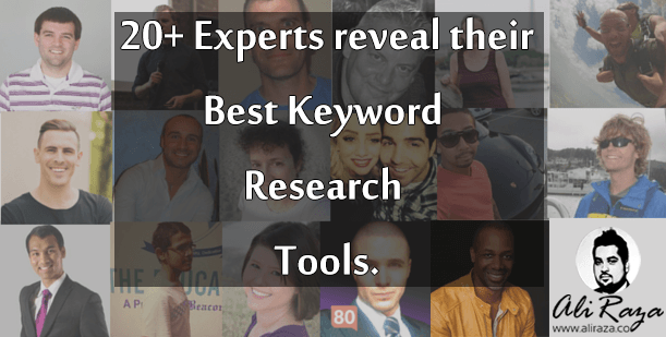 20+ Experts Reveal Best Keyword Research Tool!