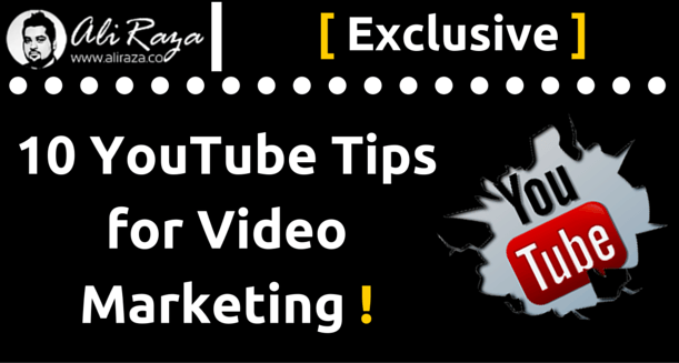 10 Youtube Tips For Video Marketing