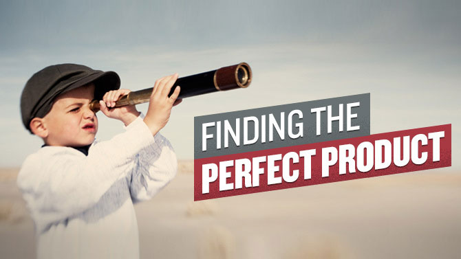 finding the perfect product