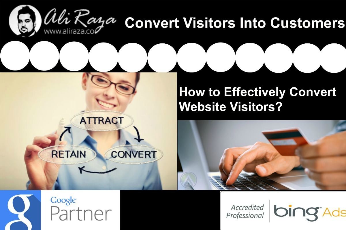 how to effectively convert website visitors