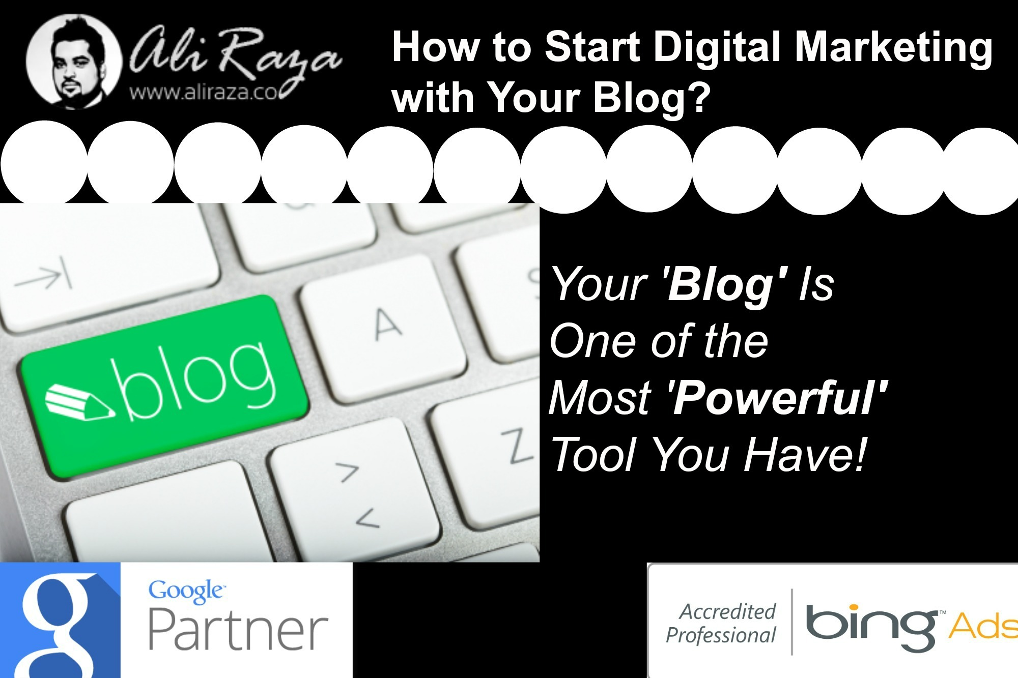 how to start digital marketing with your blog