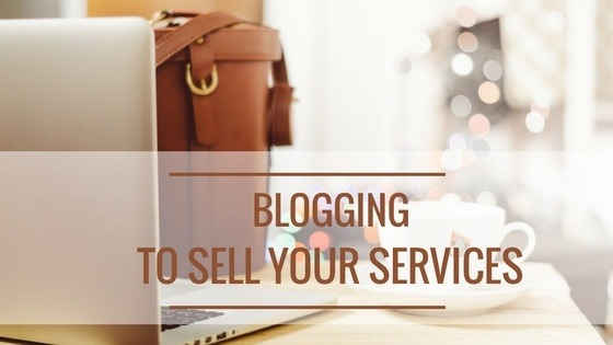 blogging-to-sell-services