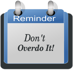 dont over do in affiliate marketing