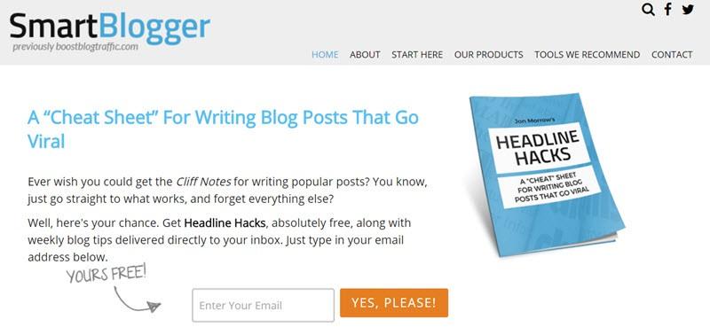 smartblogger free ebook