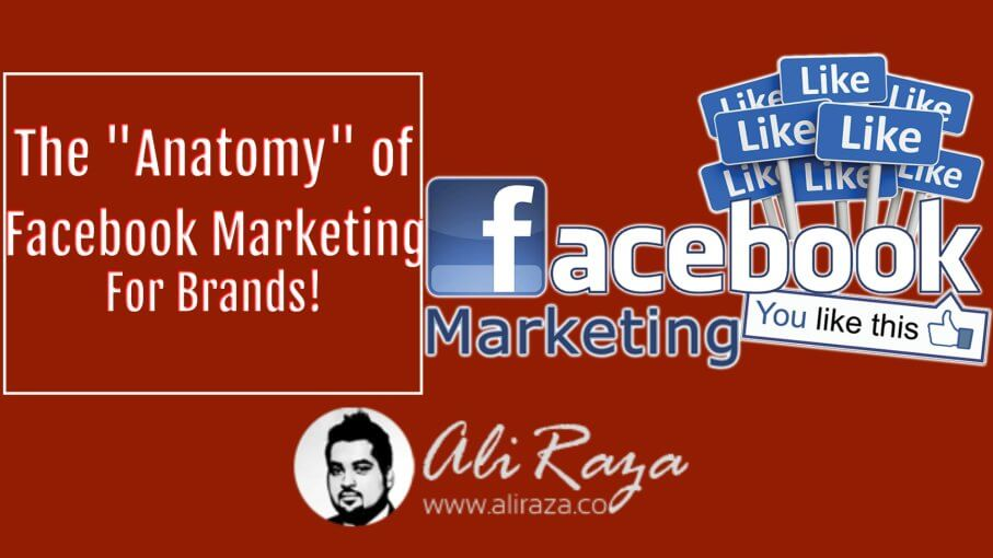The anatomy of facebook marketing for brands