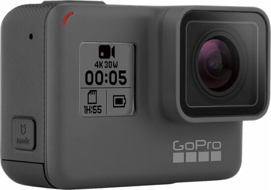 GoPro Hero 5 Black best lightest vlogging camera
