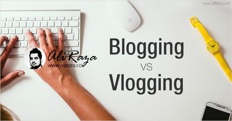 blogging vs vlogging what to do
