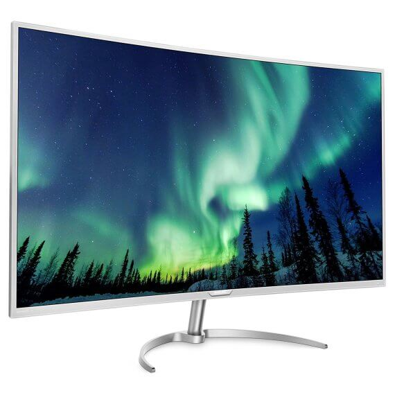 Philips BDM4037UW 40-Inch Curved 4K LED Monitor