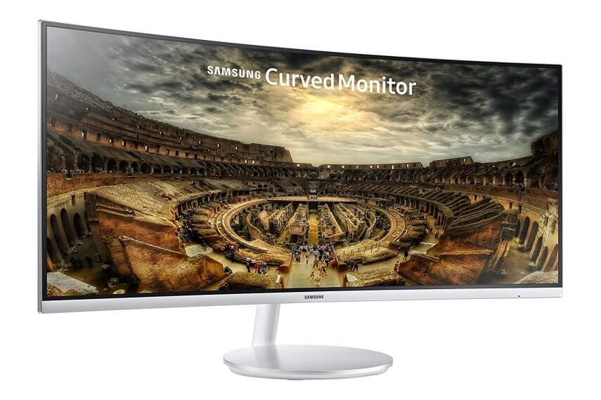 Samsung CF791 Series 34-Inch Curved Widescreen Monitor 4k