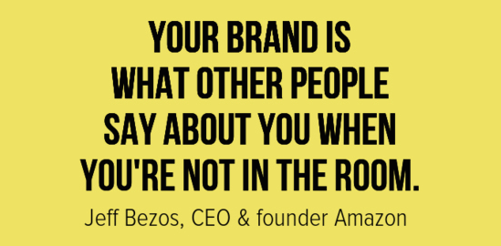 jeff bezos amazon ceo on branding