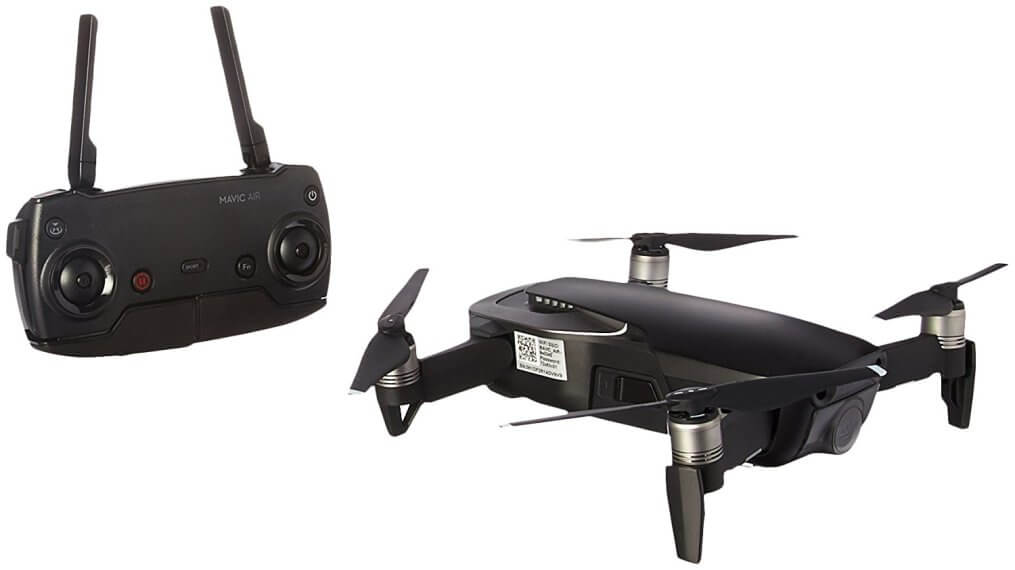 DJI Mavic Air, Fly More Combo, Onyx Black