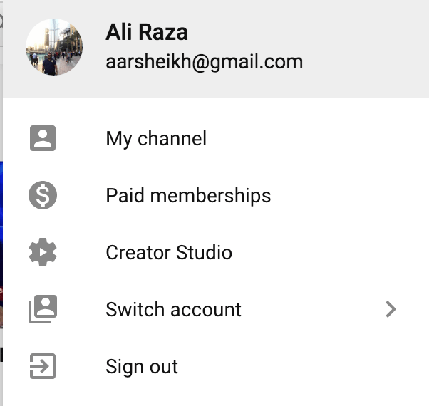 youtube paid membership option