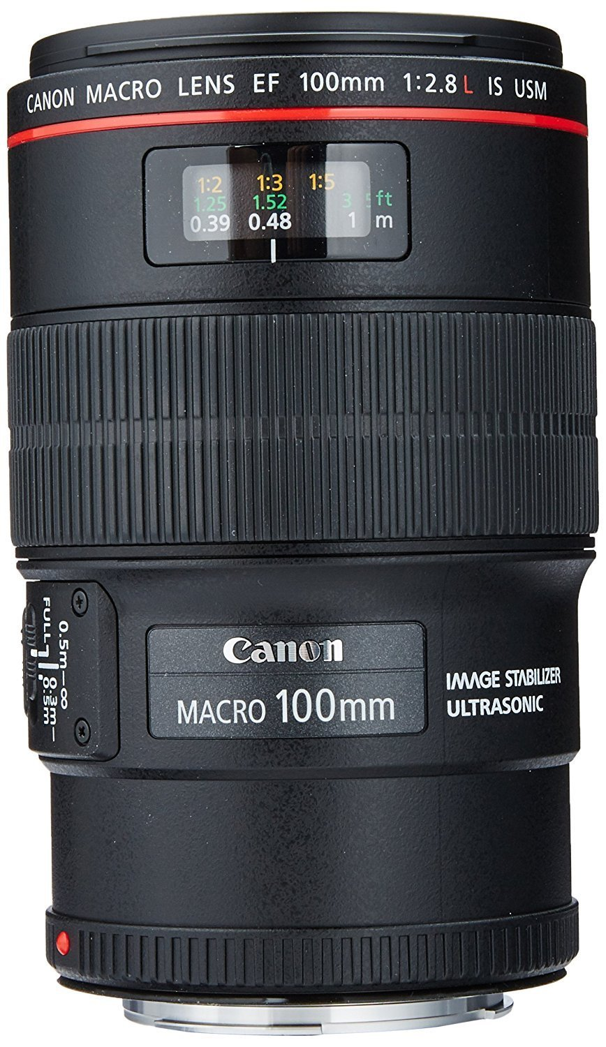 Canon EF 100mm f:2.8L IS USM Macro Lens for Canon Digital SLR Cameras