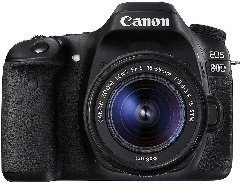 Canon EOS 80D EF-S 18-55mm STM Lens