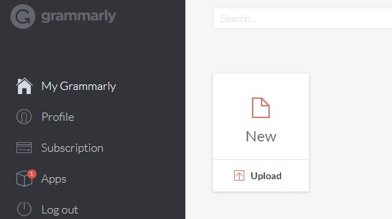 Getting started with grammarly