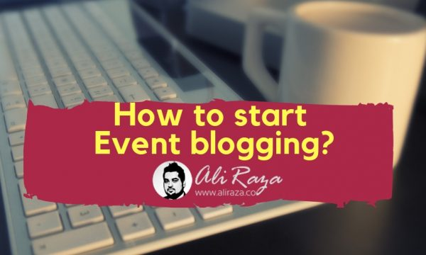 How to Start Event Blogging