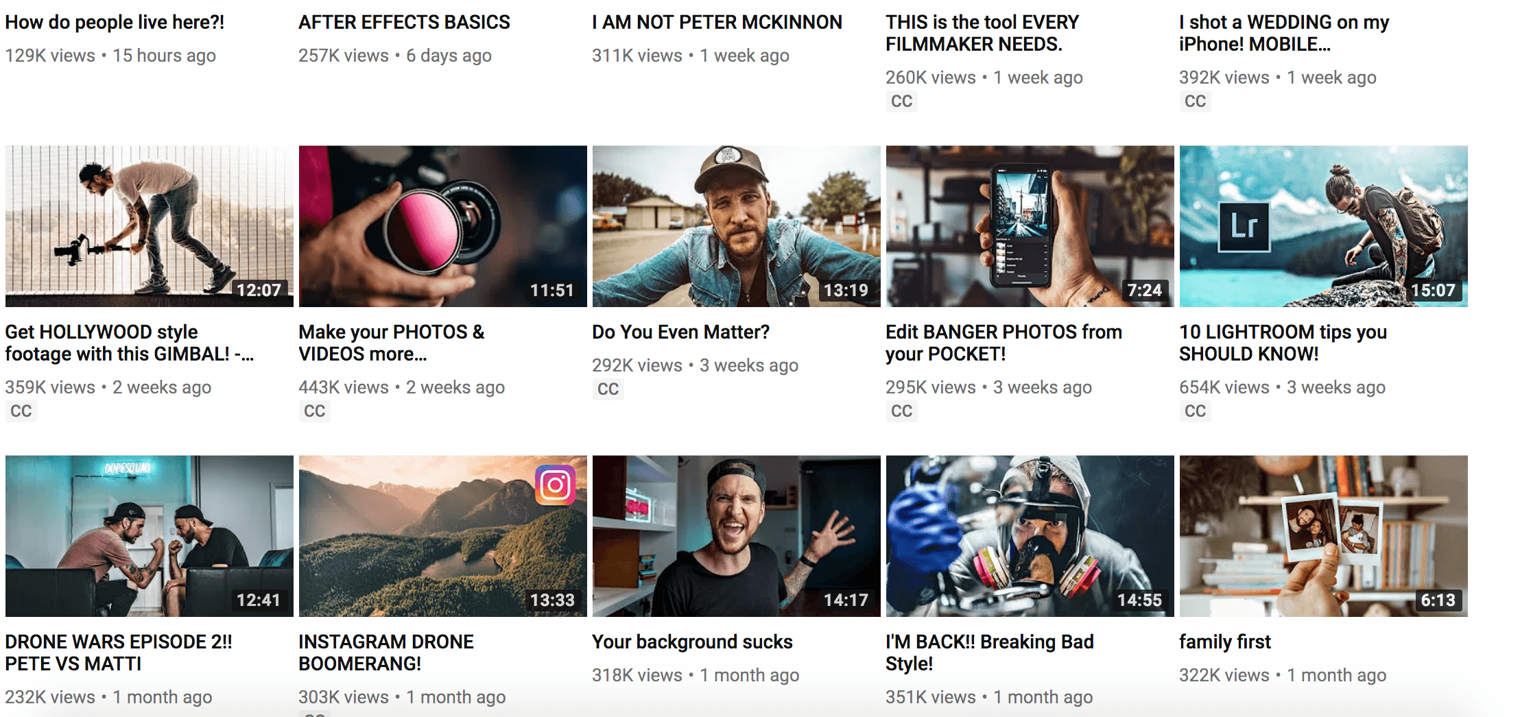 Peter McKinnon youtube seo guide how to rank youtube videos