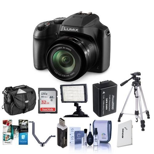 Panasonic Lumix DC-FZ80 Digital Point and Shoot Camera