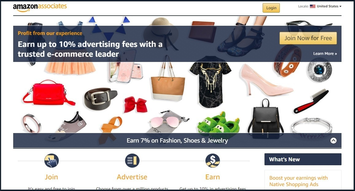 how to make money with amazon associate affiliate program