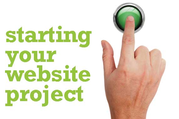 starting your website project