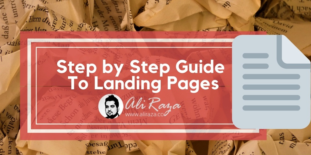 step by step guide to landing pages