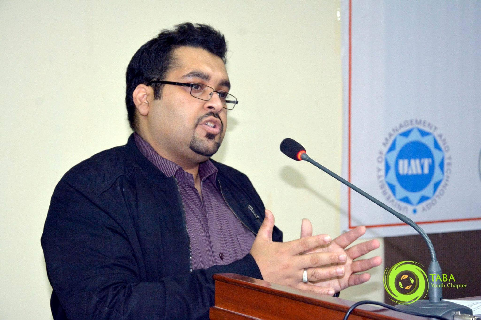 CRO University lecture by ali raza
