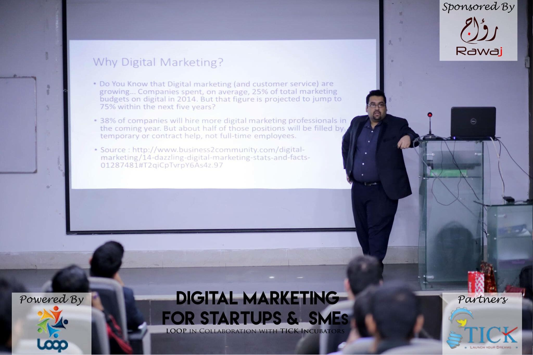 Digital Marketing for startups and sme by ali raza