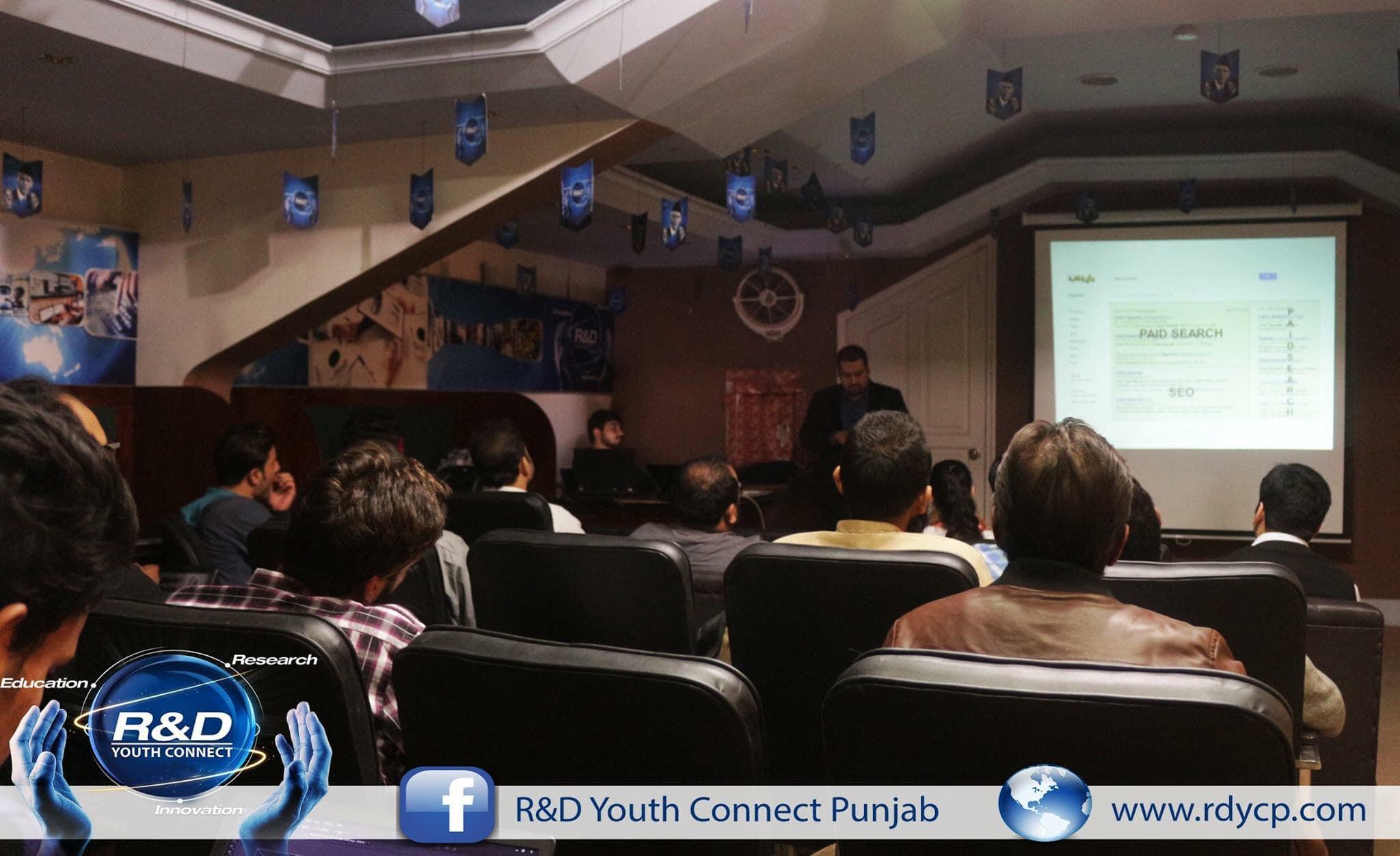 R & D Youth Connect Punjab Digital Marketing Growth Session Ali Raza