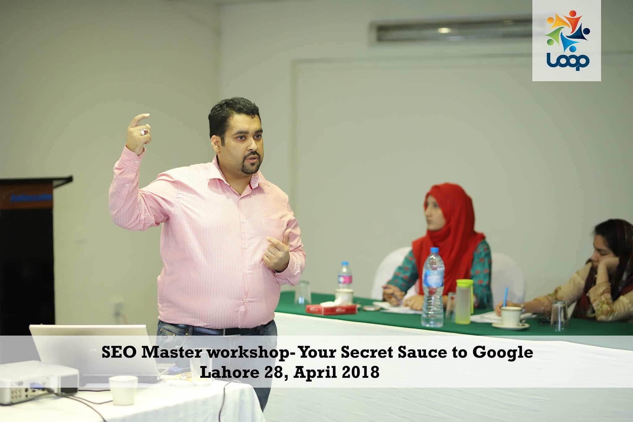 SEO Master Workshop 2018
