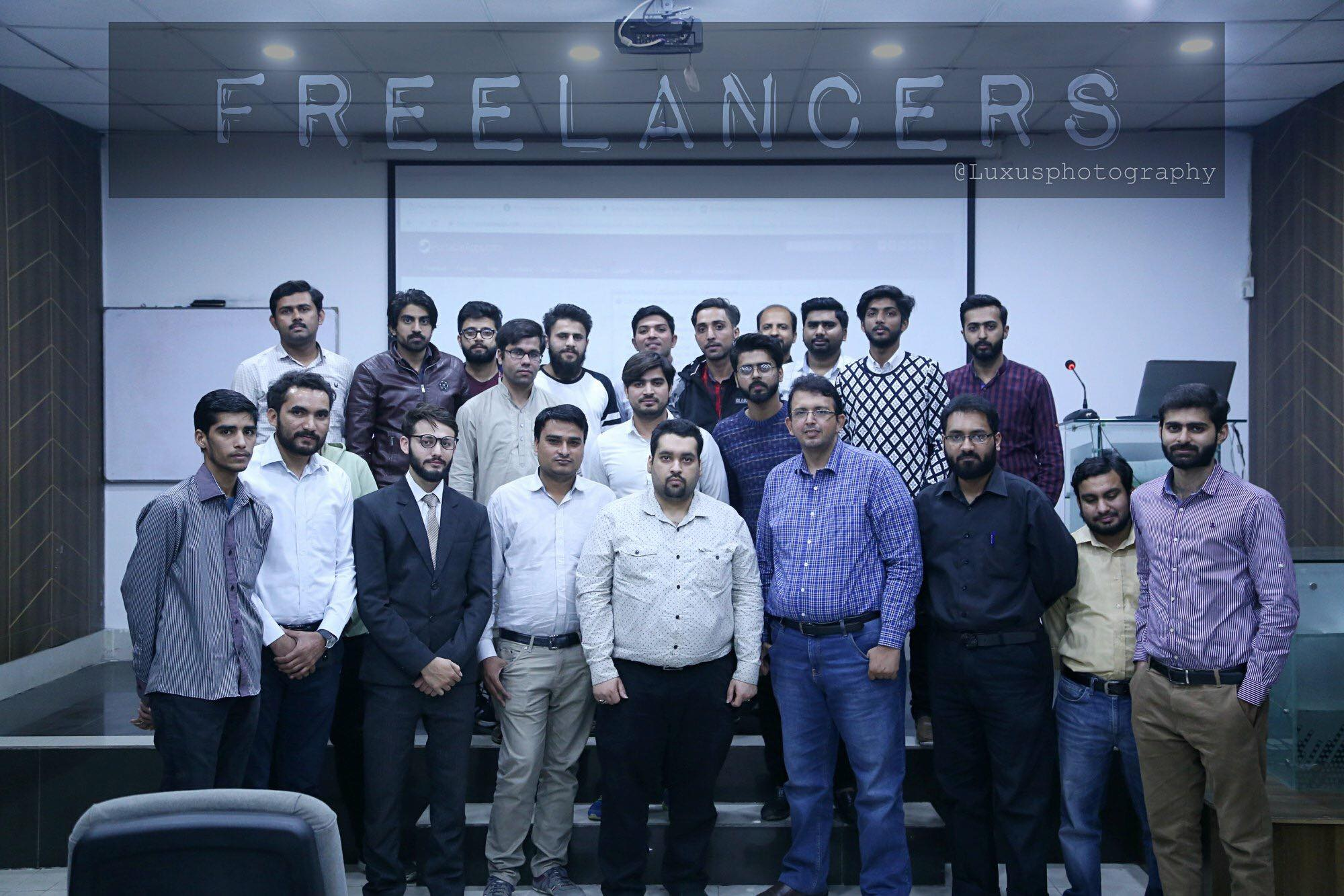 Session on Branding with Blogging at UET, University, Lahore.