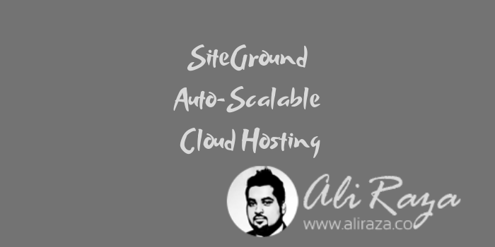 SiteGround Auto-Scalable Cloud Hosting