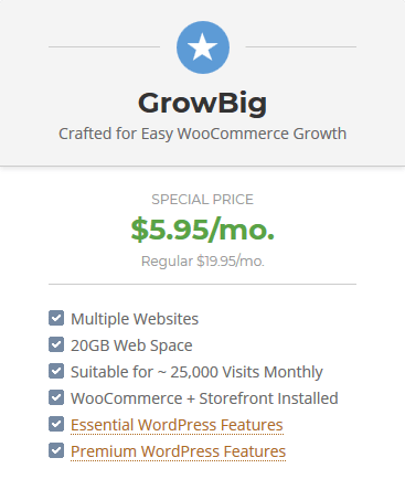 SiteGround High Performance WooCommerce Hosting - GrowBig