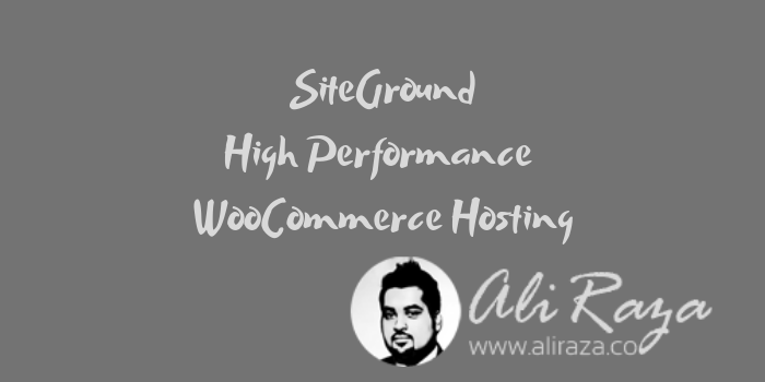 SiteGround High Performance WooCommerce Hosting