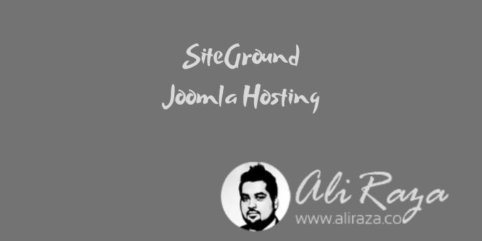 SiteGround Joomla Hosting