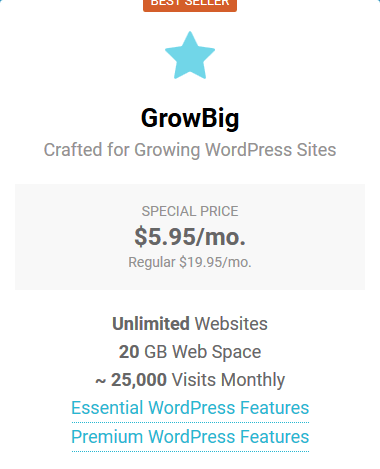 SiteGround Managed WordPress Hosting - GrowBig