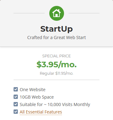 SiteGround Reliable Web Hosting - Startup