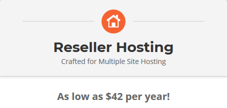 SiteGround Reseller Hosting Package