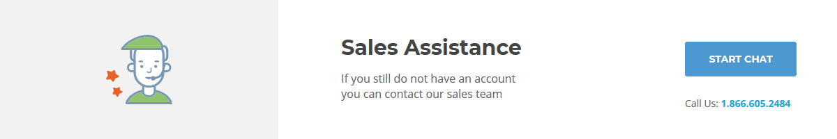 SiteGround Sales Assistance