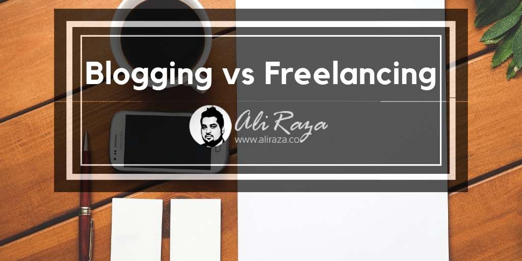 blogging vs freelancing
