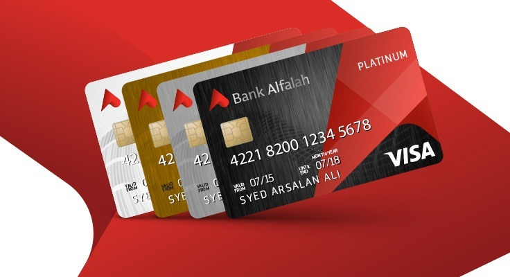 Bank Alfalah VISA Platinum Credit Card Pakistan