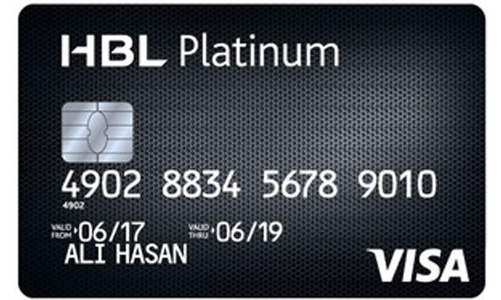 HBL Platinum Credit Card Pakistan
