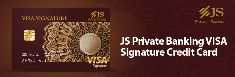 JS Private Banking Signature Credit Card PakistanJS Private Banking Signature Credit Card Pakistan