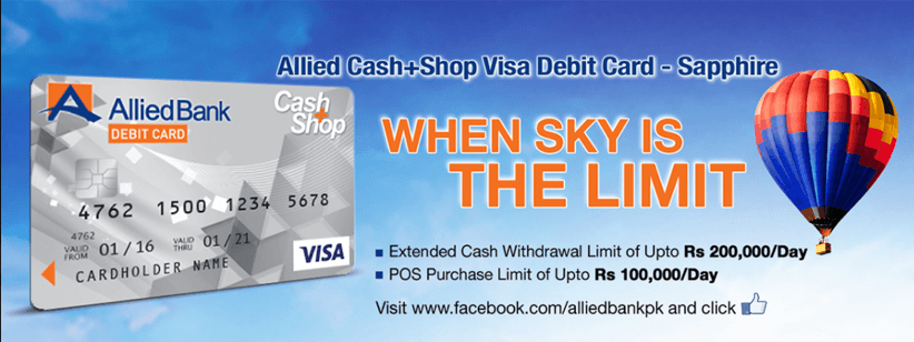 allied cash shop visa debit card