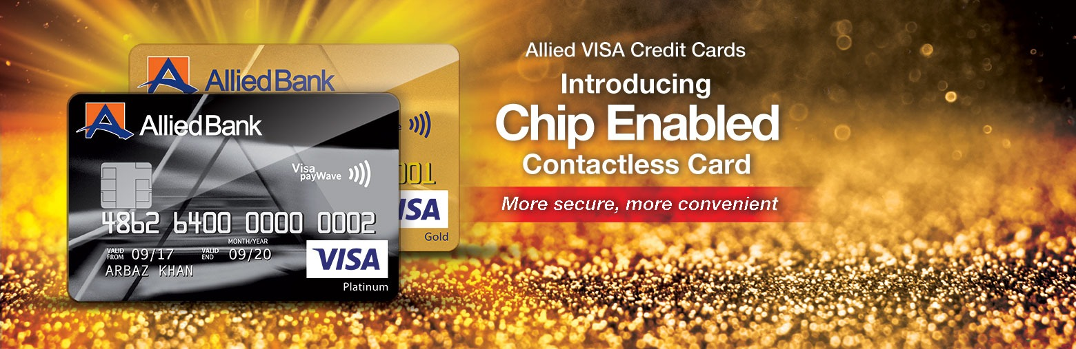 allied visa credit card in pakistan