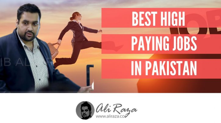 best high paying jobs in pakistan
