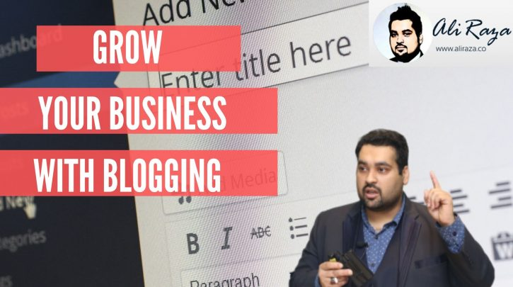 grow your business with blogging