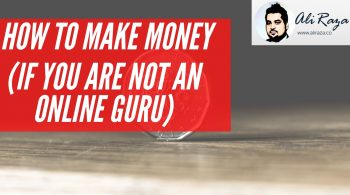 how to make money if you are not online guru